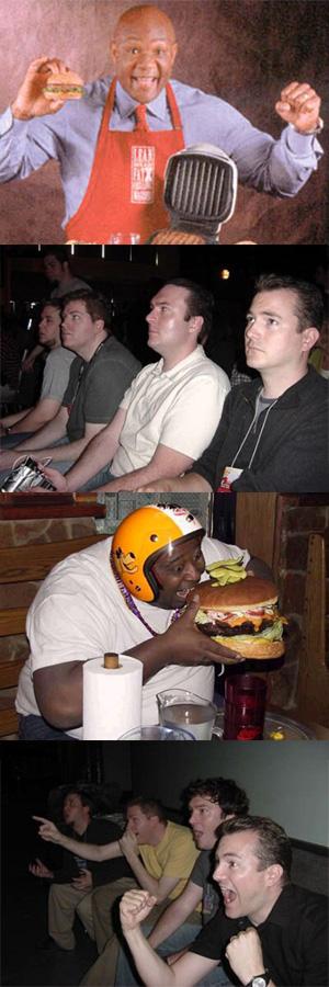 comixed - Gaijin 4koma Burgertime