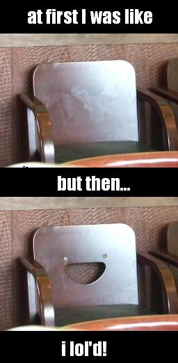 comixed - but then I lol'd - chair