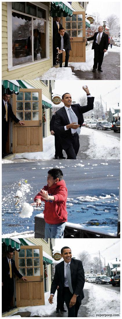 comixed - superpoop - obama 4koma